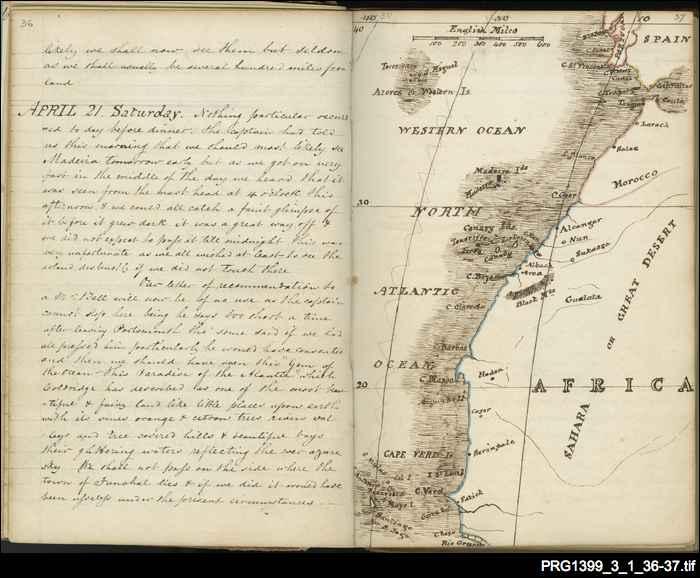 Charles Algernon Wilson's journal of a trip to South Australia