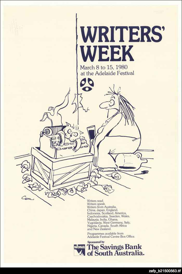 Writers' Week, 1980