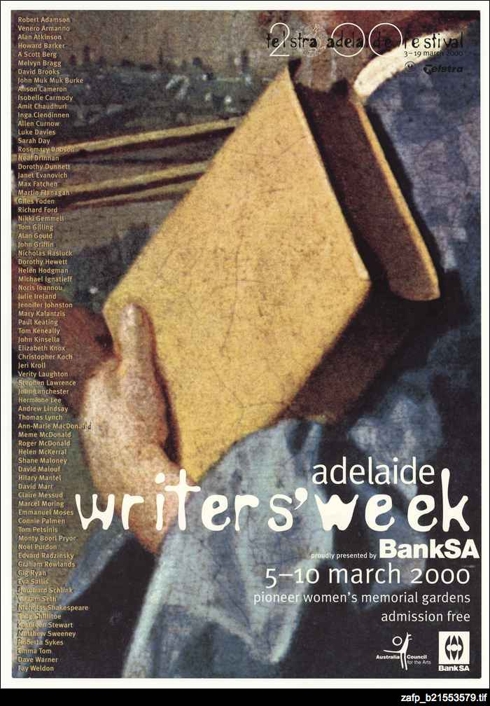 Writers' Week, 2000