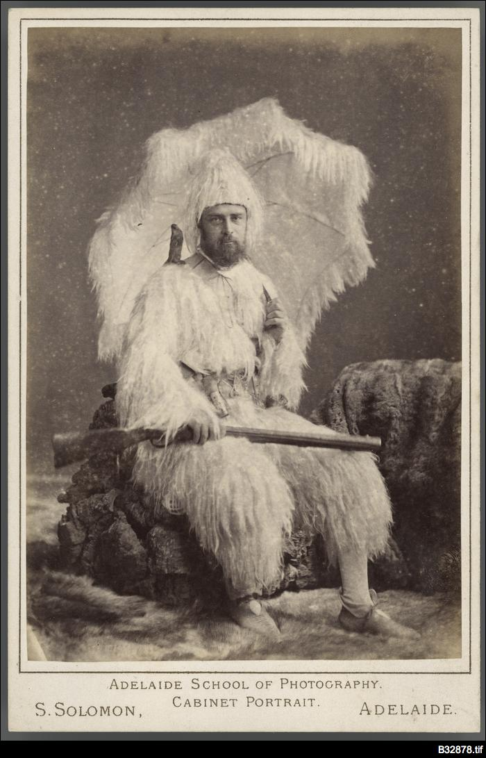Man in fancy dress costume
