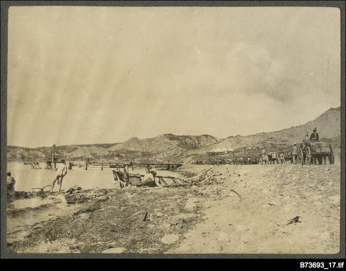 Scene at Gallipoli