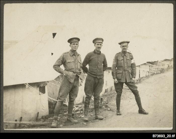 Medical personnel at Gallipoli
