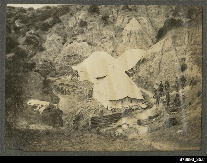 Camp at Gallipoli