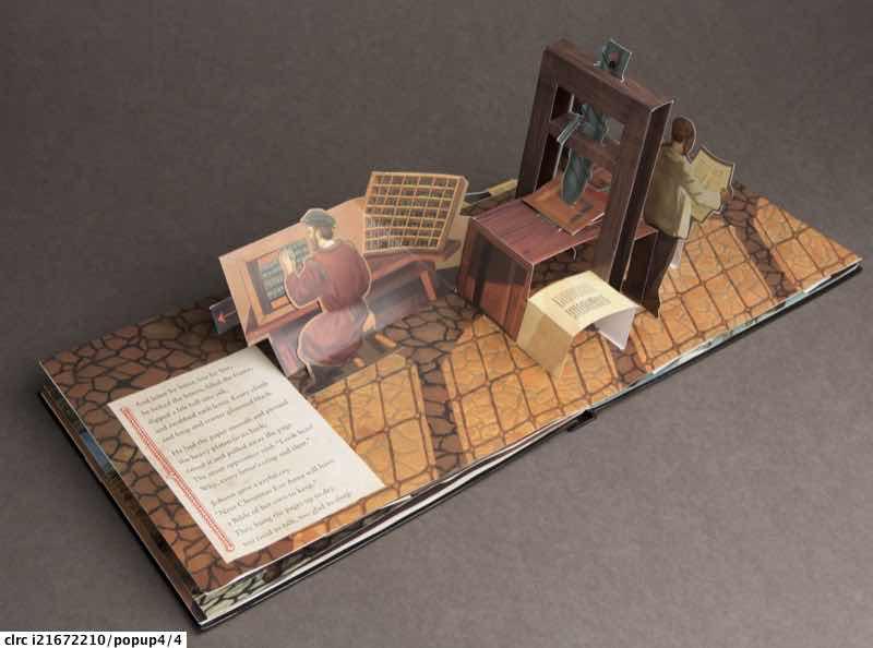 Bay D: Gutenberg's gift