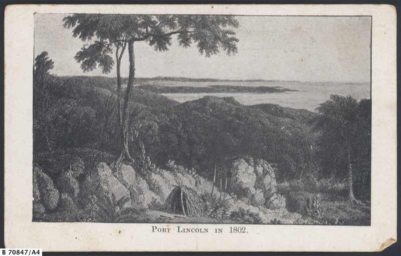 View of Port Lincoln in 1802