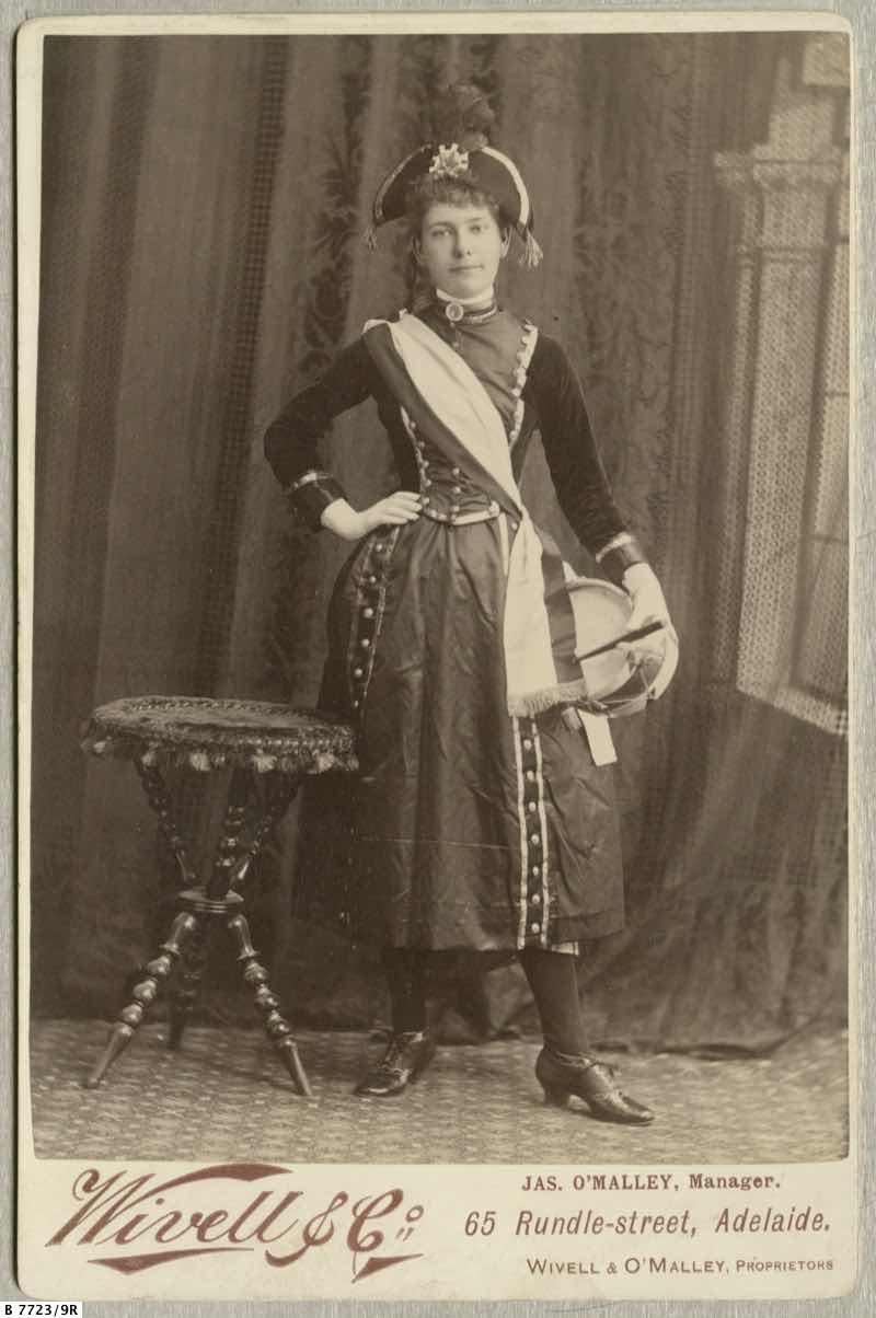 Edith Aird - Vivandiere