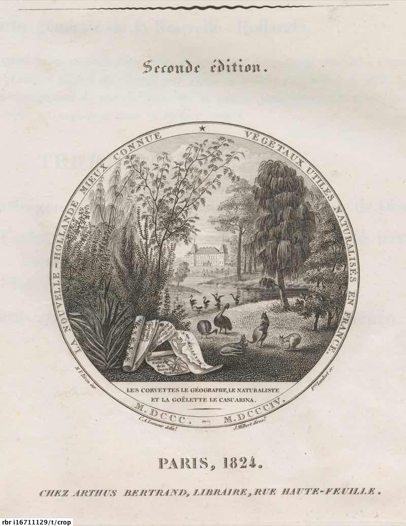 Voyage de découvertes aux terres australes