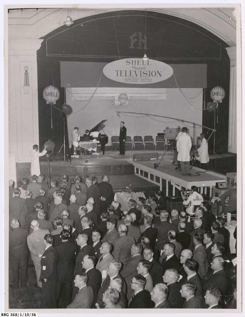 Shell sponsored demonstration, 1949