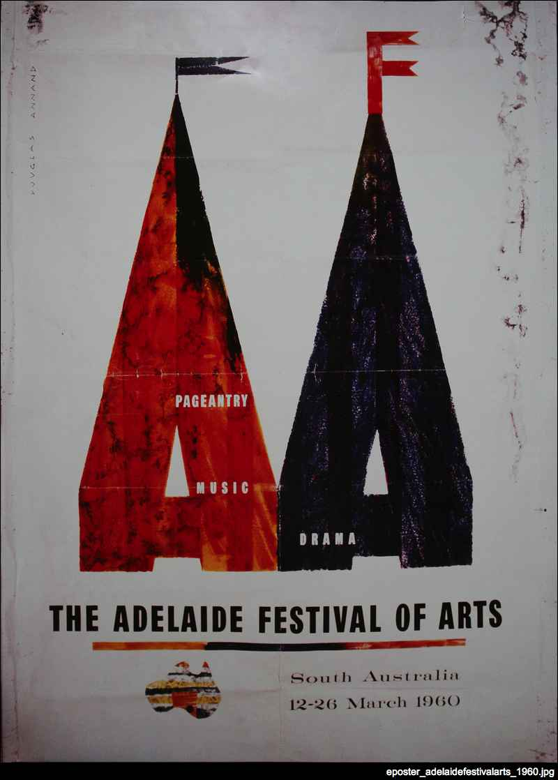 Adelaide Festival of Arts promotional material