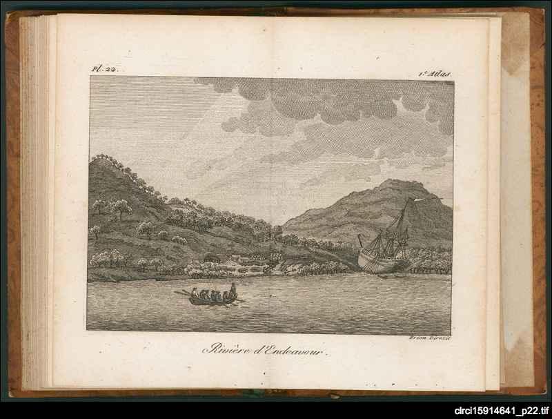 Premier voyage de James Cook autour du monde