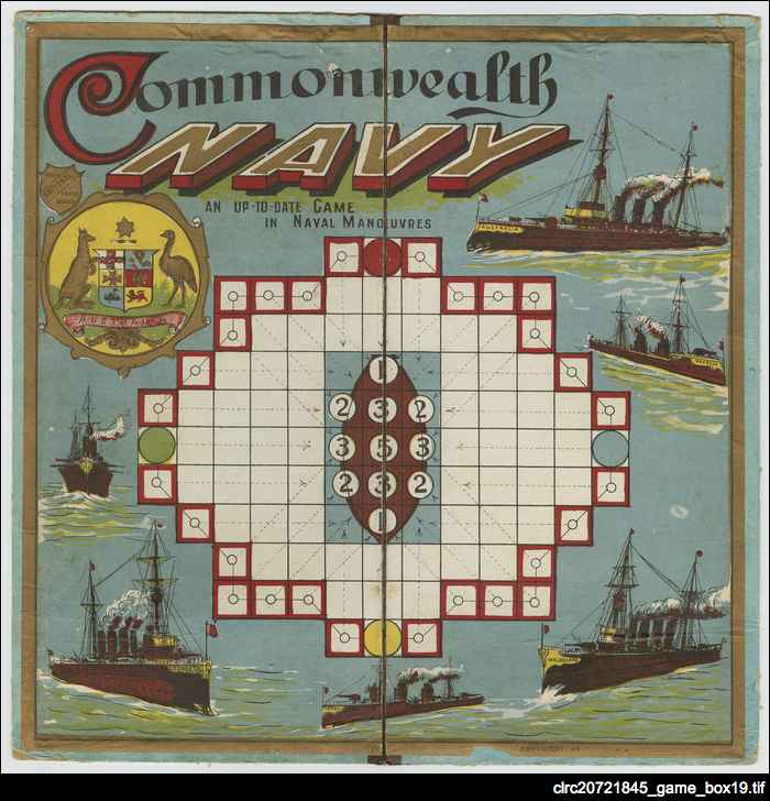 Commonwealth Navy board game