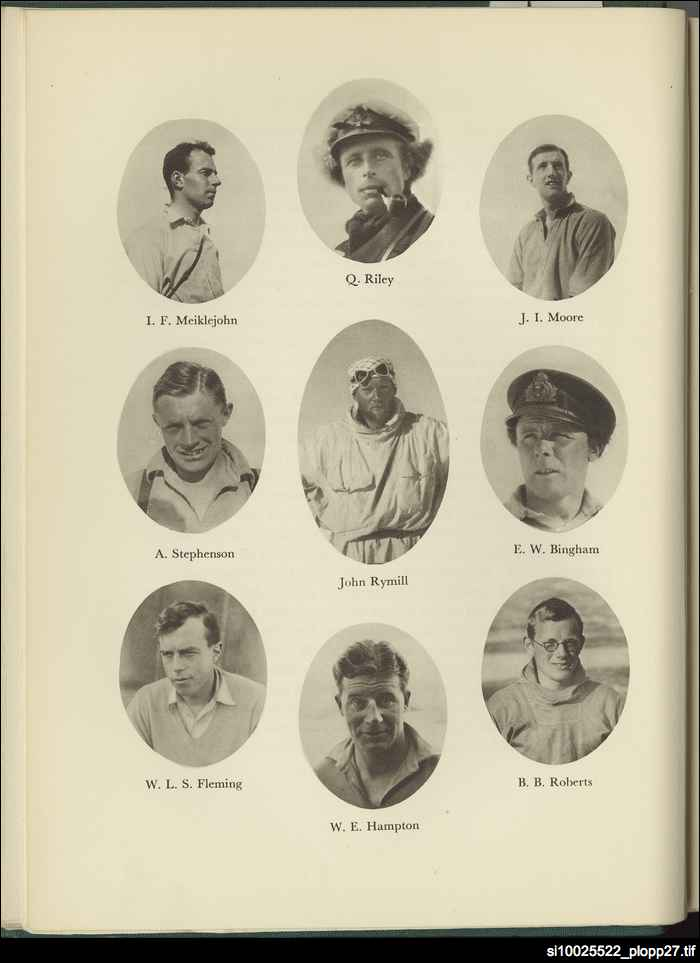 Members of British Graham Land Expedition