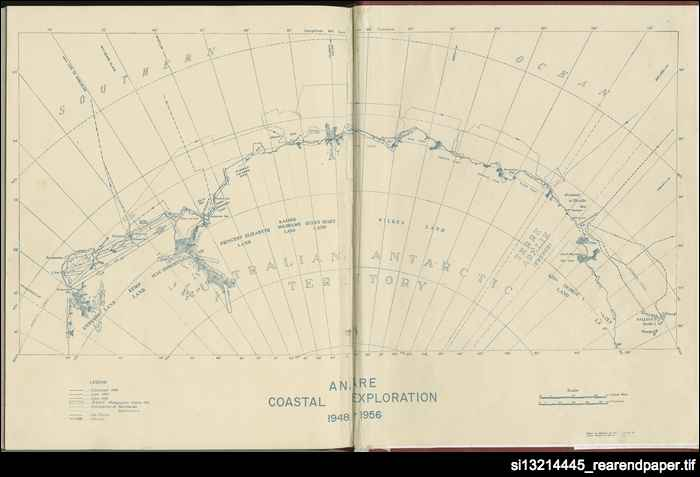 ANARE coastal exploration 1948-1956