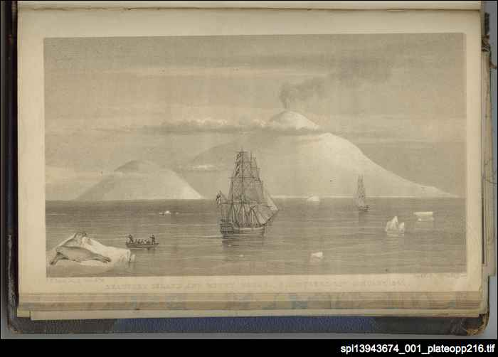 Mount Erebus discovered