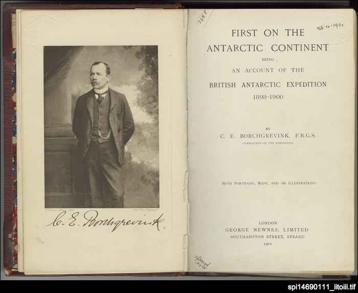 First on the Antarctic continent