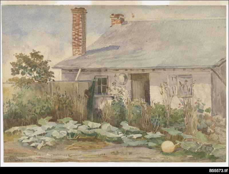Settler's cottage