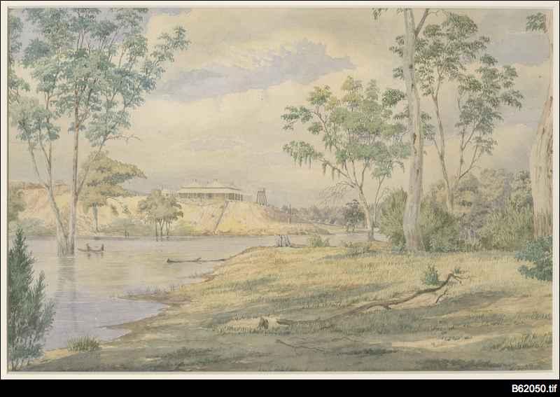 Paringa station, Murray River