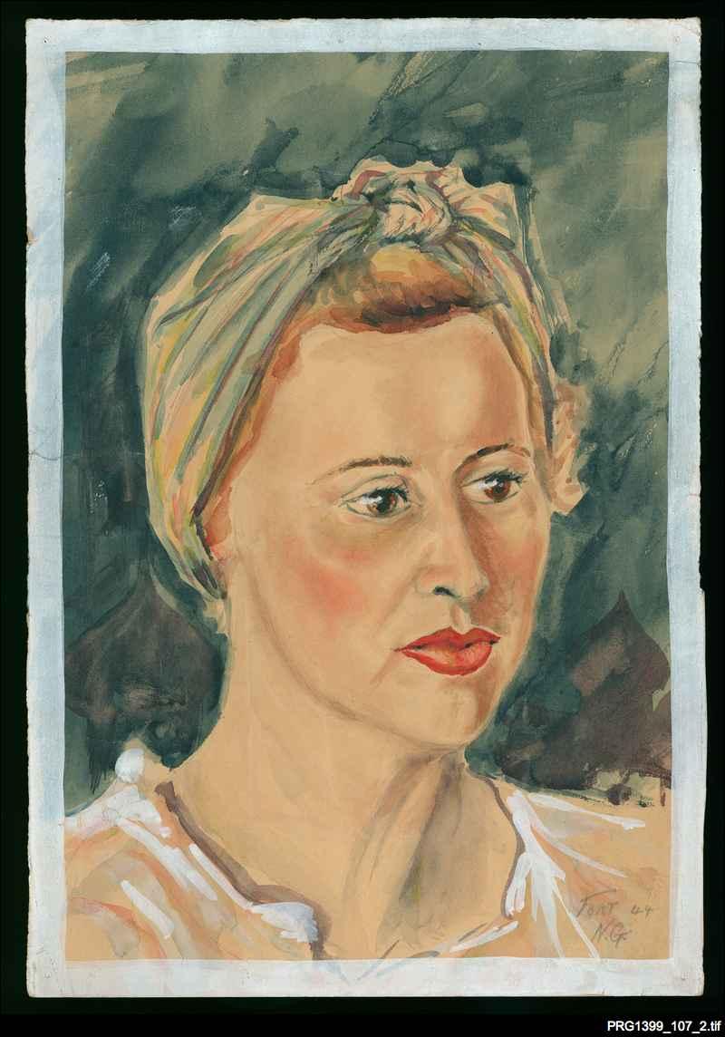 Portrait of Shirley Cameron Wilson