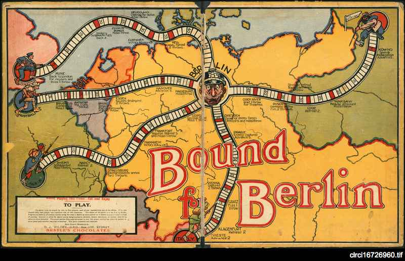 Bound for Berlin: the Great War game