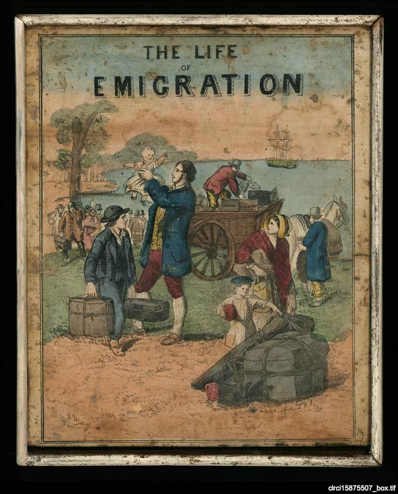 The life of emigration [dissected puzzle]