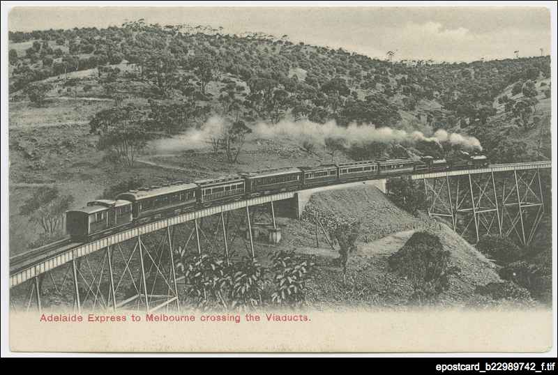 Adelaide express to Melbourne