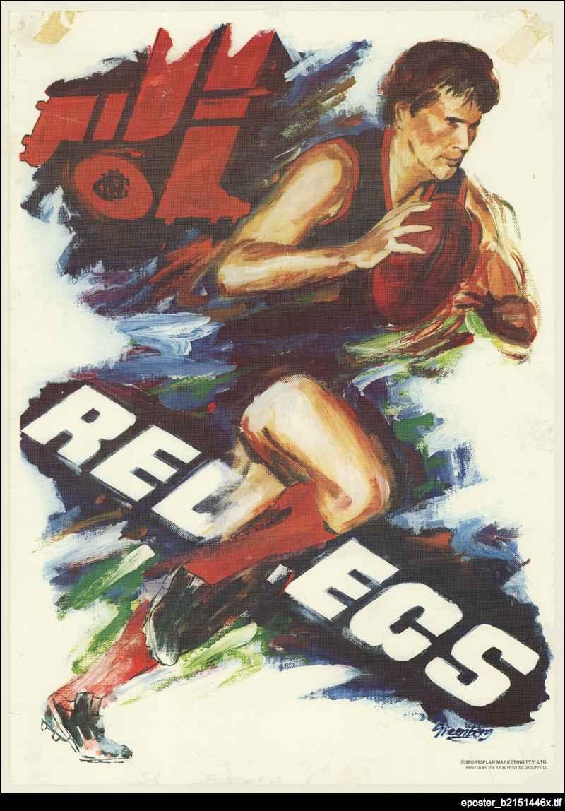 Redlegs poster