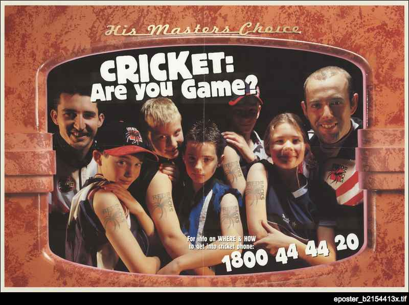 Cricket: Are you game?