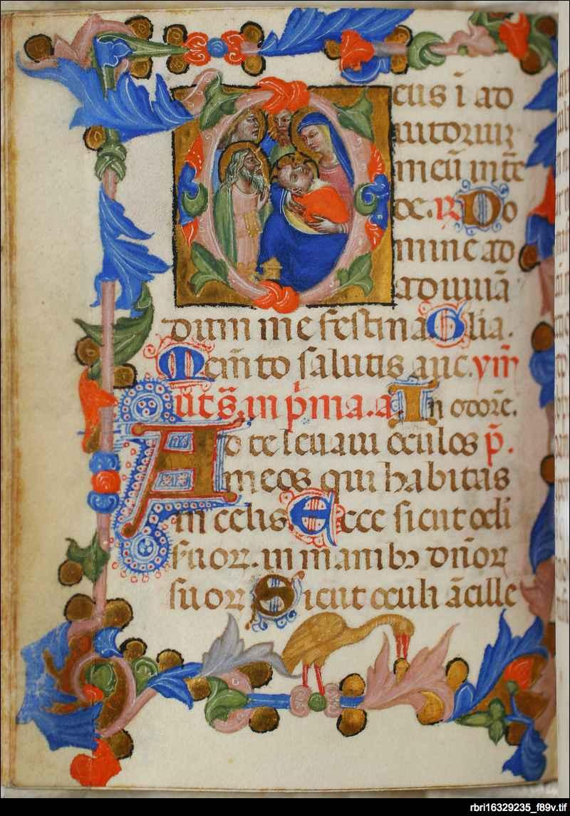 Adoration of the Magi: folio 89v