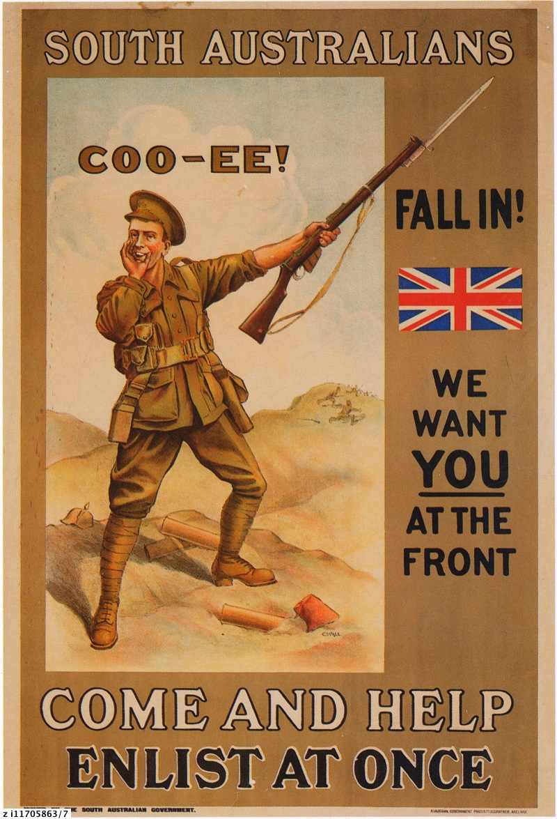 Coo-ee! : World War 1 recruiting poster